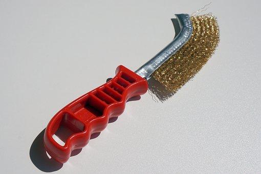 Brush, Steel Brush, Scratch, Wire Brush, Metal