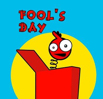 April, Fool, Box, Jack, Day, Surprise, Fun, Funny, Gift