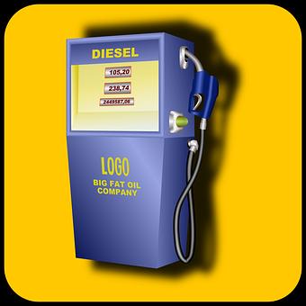 Gas Pump, Gasoline, Purple, Diesel, Gas
