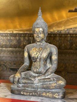 Buddha, Thailand, Wat, Bangkok, Temple, Statue