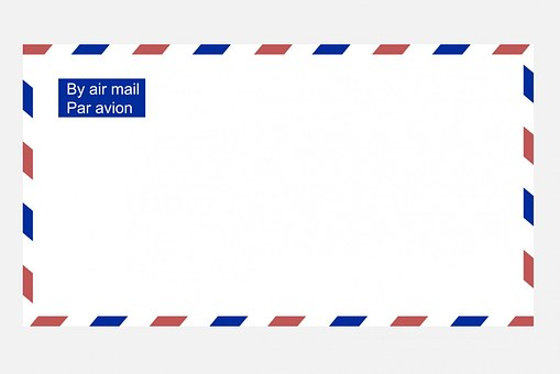 Airmail Envelope, Airmail, Envelope