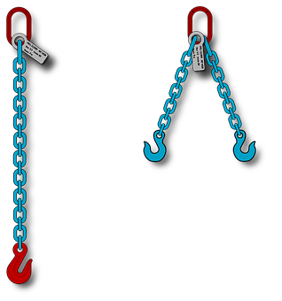 Chain Sling, Rigging, Alloy Chain