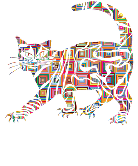 Cat, Cute Cat, Animal, Pets Painted Cats, Puzzle Cat