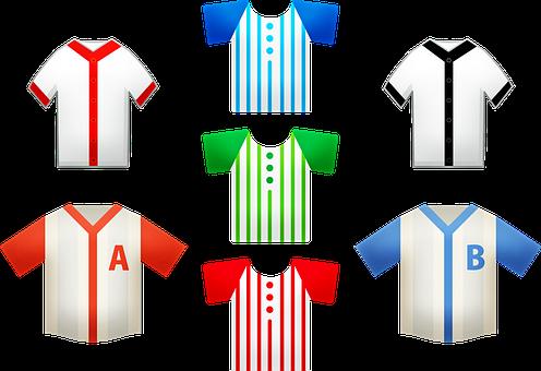 Baseball, Baseball Shirt, T-shirt, Player