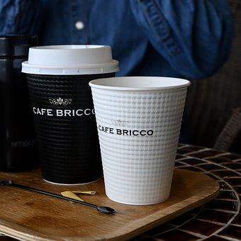 Open, Coffee, Black, Café, Cup, Table, Sugar, White