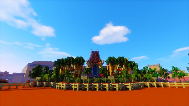 Minecraft, Palace Network, Hollywood Studios