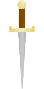 Dagger, Knife, History, Past, The War, The Middle Ages
