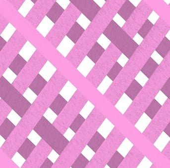 Fabric, Gingham, Pink, White, Purple