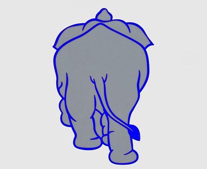 Elephant, Animal, Vector Graphic, Wildlife, Africa