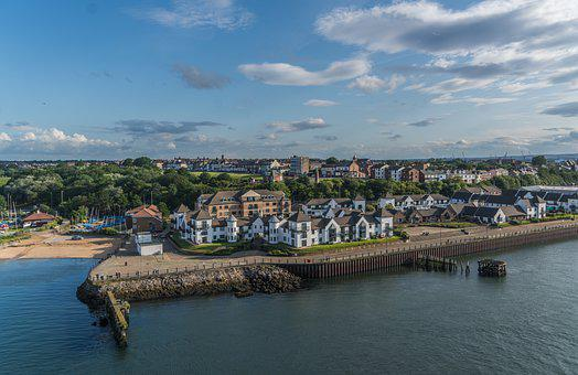 Tyne, Coast, Travel, Architecture