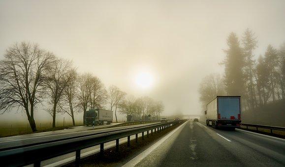 Transport, Truck, Supply, Corona, Road