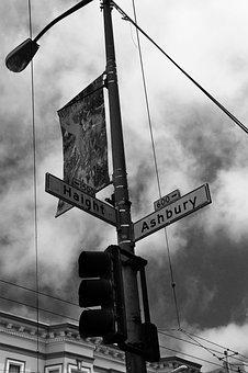 Usa, California, Famous, Artistic, Haight-ashbury
