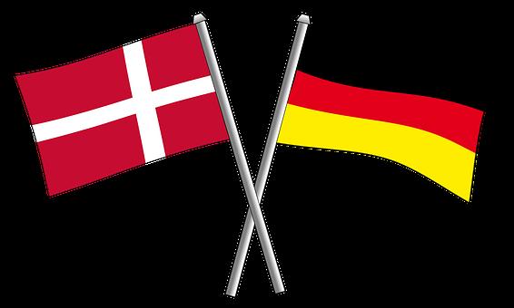 German, Germany, Friendship, Flag, Flags, Crossbred