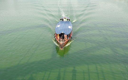 Hatirjheel, Dhaka, Corruption, Boat, Bangladesh