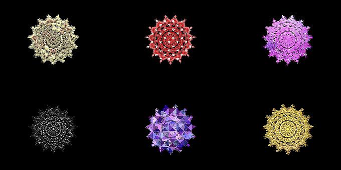 Mandala Flower, Mandala Flower Illustration