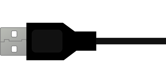 Usb, Plugin, Cable, Link, The Wire, Connect