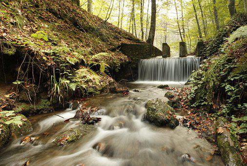 Bolu, Seven Lakes, National Park, Waterfall, Water