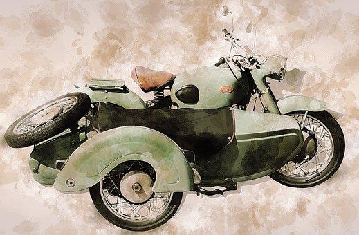 Zündapp Sidecar, Sidecar, Oldtimer