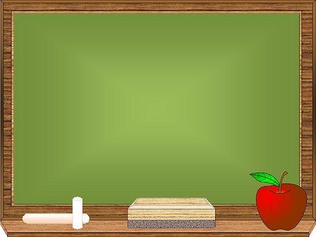 Blackboard, Chalk, School, Chalkboard, Board, Education