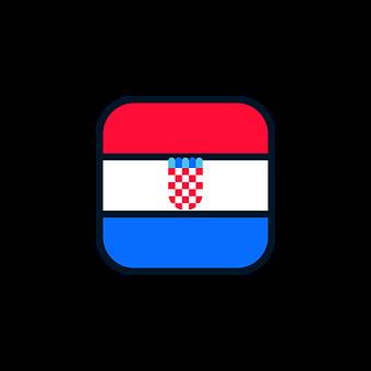 Croatia, Croatia Icon, Croatia Flag, World Cup Russia