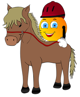 Strange, Reiter, Equestrian Helmet, Horse, Pony, Ride