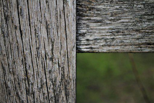 Wood, Connection, Square, Grain, Background, Fence