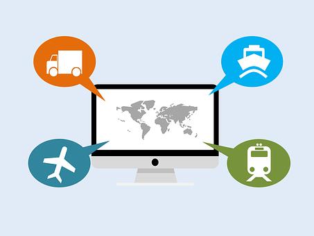 Logistics, Freight, Cargo, Train, Boat, Railway