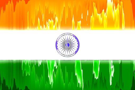 India, National Flag, Flag