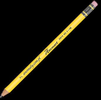 Pencil, Draft, Sketch, Write, Pen, School, Office