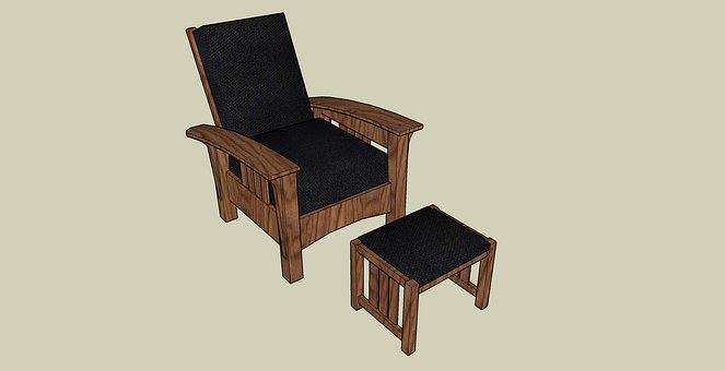 Chair, Foot Stool, Stool, Foot, Seat
