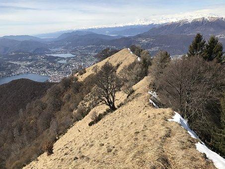 Monte Boglia, Alpine Route, Alps, Alpine, Walk, Sky