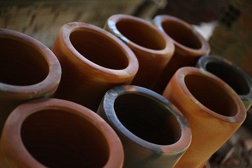 Jug, Clay, Crafts, Vase, Craftsman
