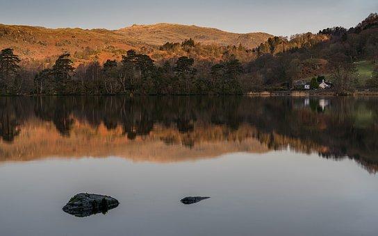 Lake District, Rydal Water, Cumbria, Landscape