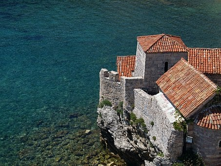 Roof, Sea, House, Architecture, Summer, Coast, Europe