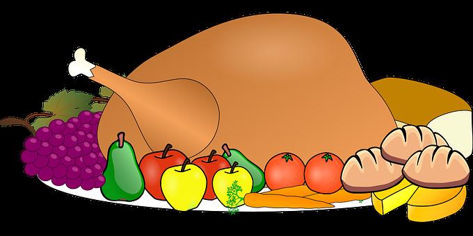 Turkey, Food, Thanksgiving, Dinner, Feast, Celebration