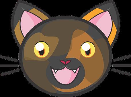 Tortie Cat, Calico, Kitty, Cute, Adorable, Fun, Kids