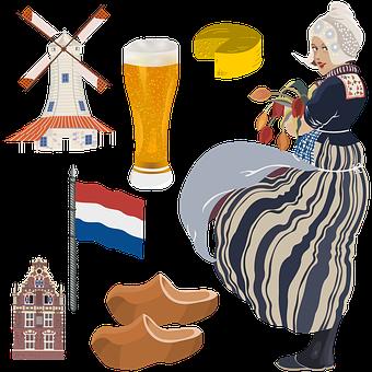 Netherlands, Woman, Girl, Holiday, Dutch, Amsterdam