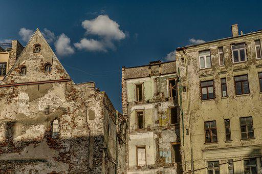 Ruin, Facade, House, Old, Decay, Dilapidated