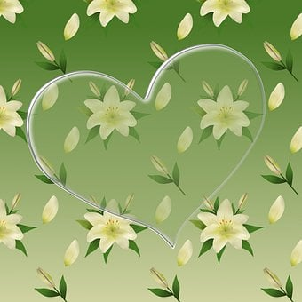Lily Of The Valley Wallpaper, Heart, The Heart Of
