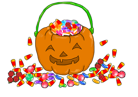Halloween, Trick Or Treat, Pumpkin, Treat, Trick, Night