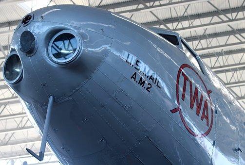 Plane, Airline, Twa, Aviation, Air Mail, Mail