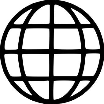 Globe, Earth, Symbols, Black And White, Sphere, 3d