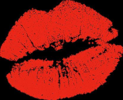 Kiss, Lipstick, Woman, Mouth, Mark, Makeup, Lips