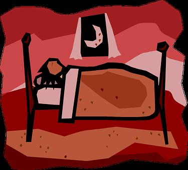 Sleeping, Bed, Asleep, Bedroom, Tired