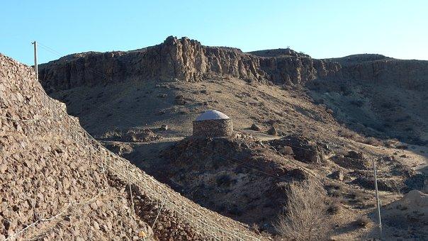Mongolia, Landscape, Gobi, Desert, Steppe, Sand, Barren