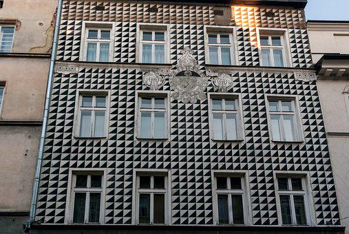 Old, Building, Kamienica, Architecture, Facade, Wall
