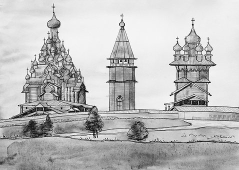 Kizhi, Wooden Architecture, Monastery, Russia, History