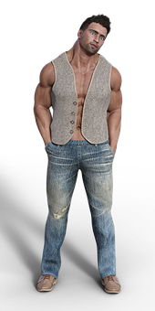 Man, Muscles, Sixpack, Muscular, Body Building