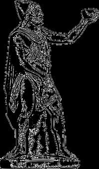 Ulysses, Odisseus, Greek Mythology, Sculpture, Myths
