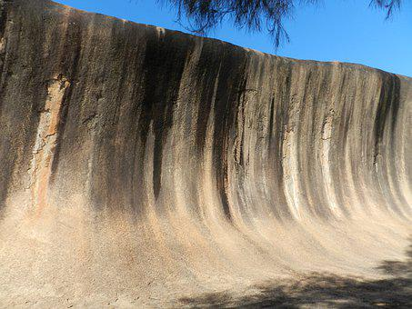 Wave Rock, Hyden, Outback, Australia
